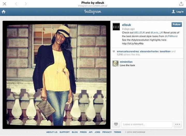 Elle Instagram Levi's event 2014